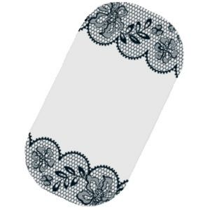 B4G1 Winter Lace nail wrap